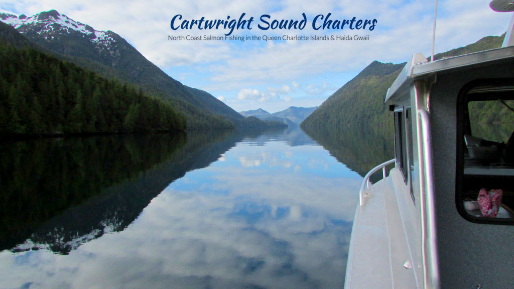 Salmon Fishing with Cartwright Sound Charters